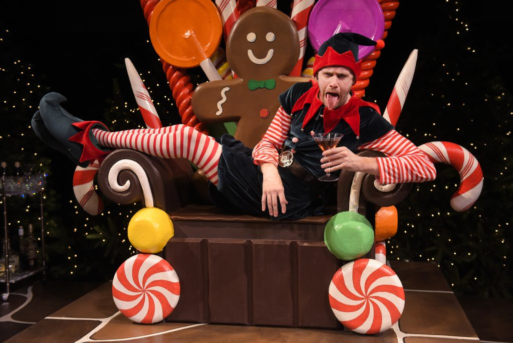 Santaland Diaries Hilarious Working Elf Reflects At Theatreworks