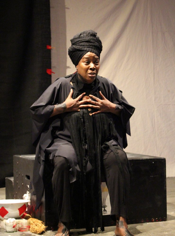 """52 Letters"""" Delivers Anti-Sex Trafficking Ritual, at Ubuntu, Oakland"""